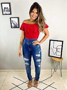 Calça Jeans Buttons (Carmen)