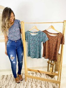 T-Shirt Oncinha Colors