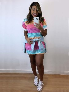 Max Blusa / Mini Vest Listras Colors
