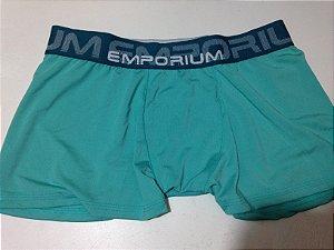 Cueca Boxer Adulto Lisa - Verde