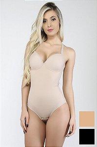 Body Modelador Nadador Mardelle - Cores Variadas