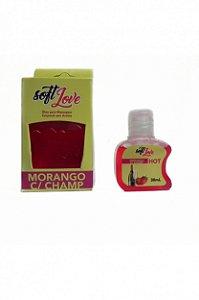 Gel Comestível Hot - Morango com Champagne