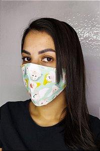 Máscara de Proteção Dupla Sublimada - 7 Anões