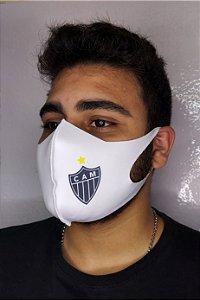 Máscara Neoprene Sublimada Adulto - Atlético Mineiro Escudo