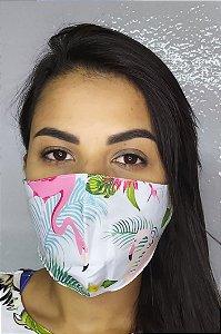 Máscara de Proteção Dupla Sublimada - Flaminho
