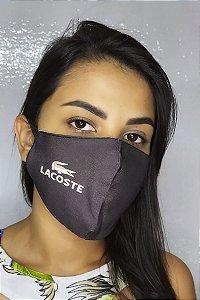 Máscara de Proteção Dupla Sublimada - Lacoste