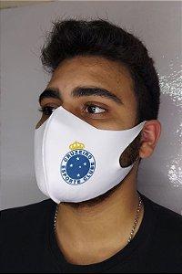 Máscara Neoprene Sublimada Adulto - Cruzeiro