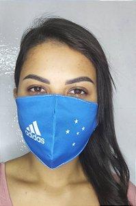 Máscara de Proteção Dupla Sublimada - Adidas