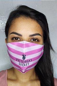 Máscara de Proteção Dupla Sublimada - Victoria's Secret