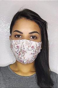 Máscara de Proteção Dupla Sublimada - Paris