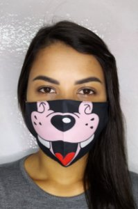 Máscara de Proteção Dupla Sublimada - Pluto