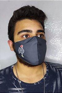 Máscara de Proteção Dupla Sublimada - Atlético - Galo Volpi