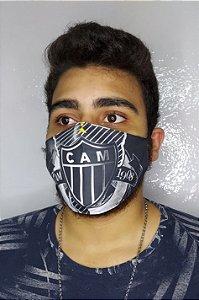 Máscara de Proteção Dupla Sublimada - Atlético - CAM