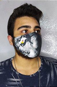 Máscara de Proteção Dupla Sublimada - Vasco