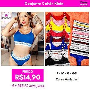 Conjunto Calvin Klein - Cores Variadas