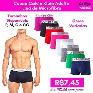 Cueca Calvin Klein Adulto Lisa - Cores Variadas