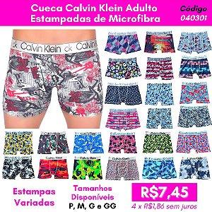 Cueca Calvin Klein Adulto Estampada - Estampa Sortida