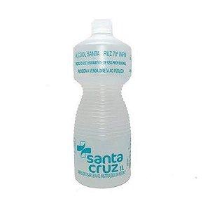 Álcool Líquido 1L 46º Santa Cruz