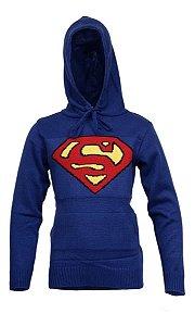 Blusa de Tricô Infantil Super Man