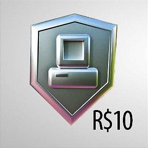DOAR R$ 10,00 (DEZ REAIS)