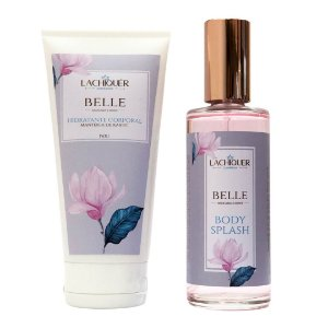 Kit Body Splash e Hidratante Corporal - Belle