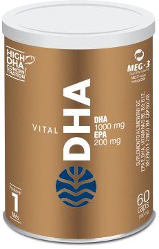 Vital DHA - 60 cáps de 1000mg