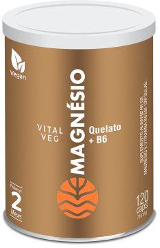 Vital Veg Magnésio Quelato - 120 cáps de 710mg