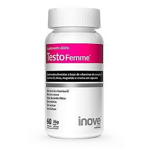 Testofemme Inove Nutrition 60 Cápsulas