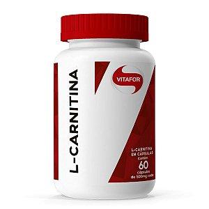 L-Carnitina 60 caps Vitafor