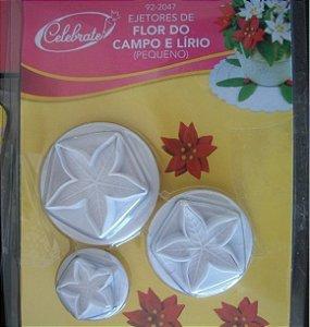 Ejetor de Flor do Campo e Lírio 2,2; 3,2 e 4cm