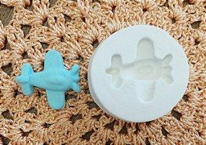 Molde de silicone Aviaozinho (4,8cm)