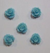 Molde de silicone c/5 mini rosas (0,8cm)