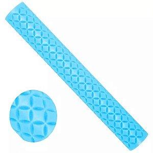 Rolinho Artístico Azul (Casquinha de Sorvete)