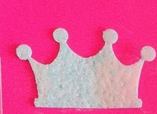 Aplique Coroa - Papel arroz -3285 (3,7cm)