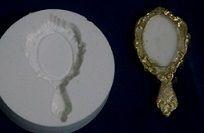 Molde de silicone Espelho G (Br.) -4802 (4cm)