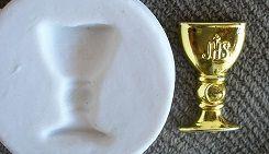 Molde de silicone Cálice PP (Br.) - 4056 (2cm)