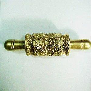 Marcador em Rolo Flor em Renda- 4032 (4cmx7,5cm)