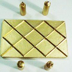 Marcador Diamante (5 pçs) - 4263 (11x6,5cm)
