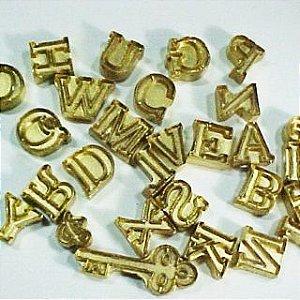 Marcador alfabeto - 4060 -(28peças, 2,5cm)