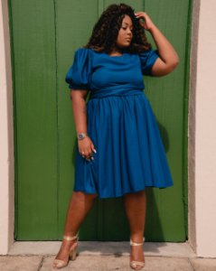 Vestido Navy blue