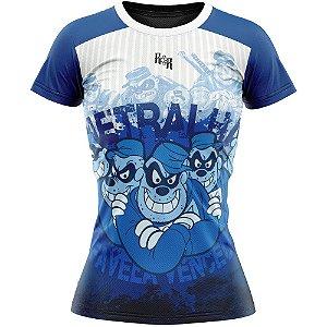 Camiseta Feminina Metralha Azul