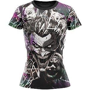 Camiseta Feminina Coringa Roxo