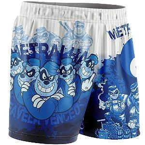 Shorts Feminino Metralha Azul
