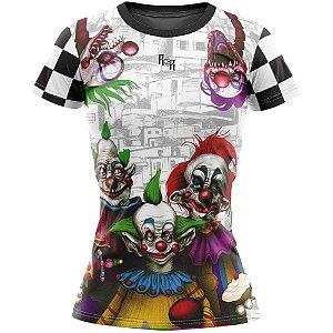Camiseta Feminina Circo dos Horrores