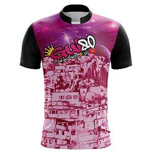 Camiseta Gui80 Favela Rosa