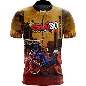 Camiseta Gui80 Motorizada Amarela