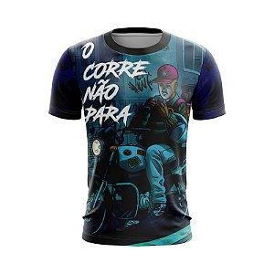 Camiseta Grau O Corre Não Para