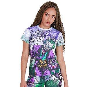 Camiseta Feminina Quebrada Coringa Dolar