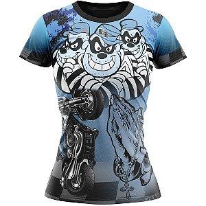 Camiseta Feminina Passou Cortou Raspou