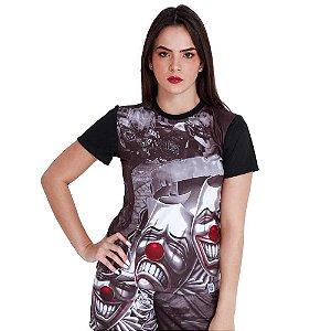 Camiseta Feminina Chora Agora Ri Depois